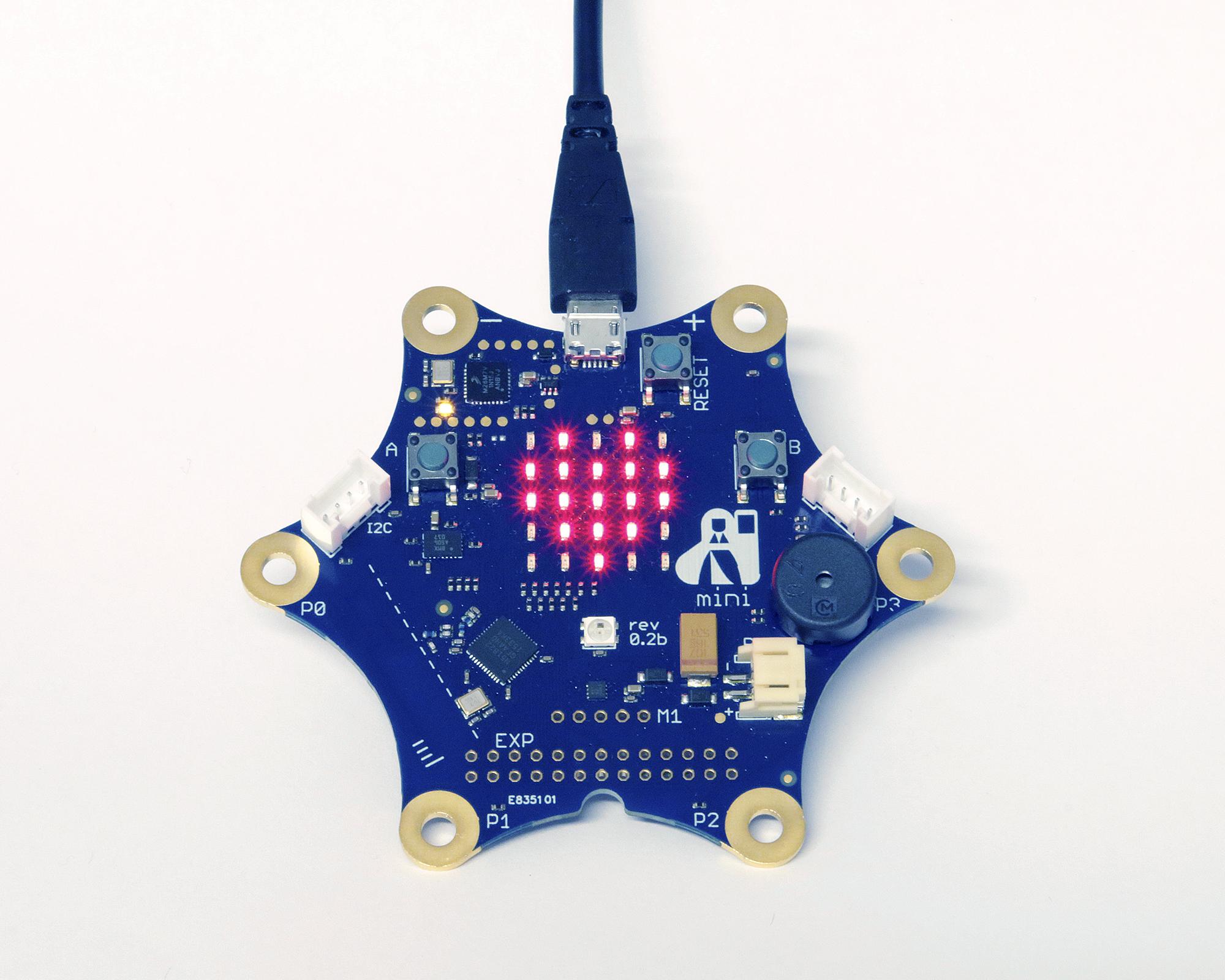 Calliope Mini - Ein digitales Elektronikboard für Schüler