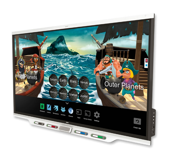 Display Flatscreen Touchscreen Smartboards